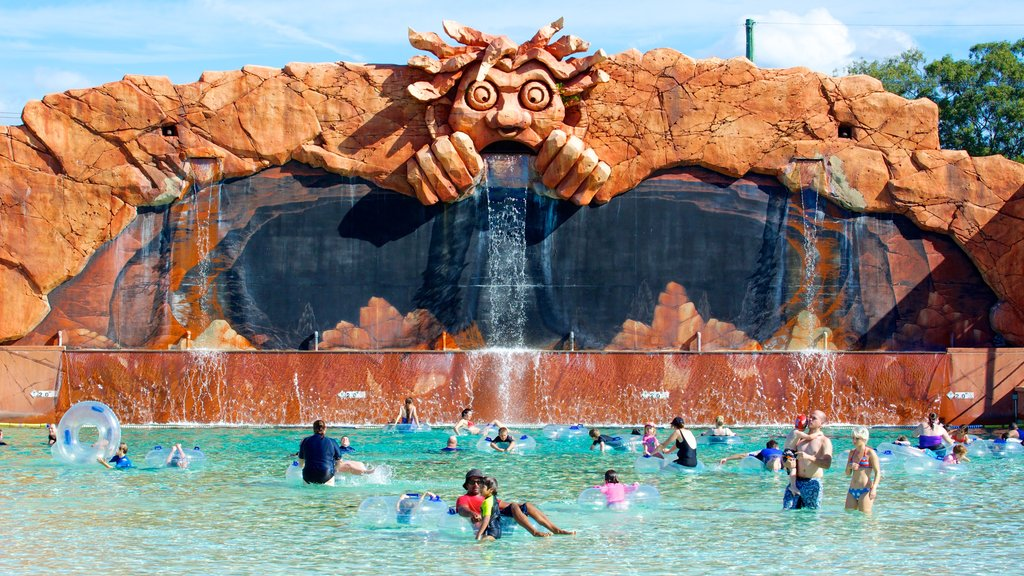 WhiteWater World which includes a pool and a waterpark