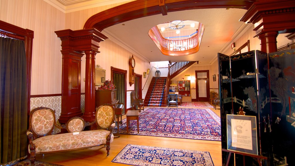 Government House which includes interior views, a house and heritage architecture