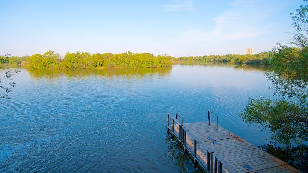 Wascana Park featuring a lake or waterhole