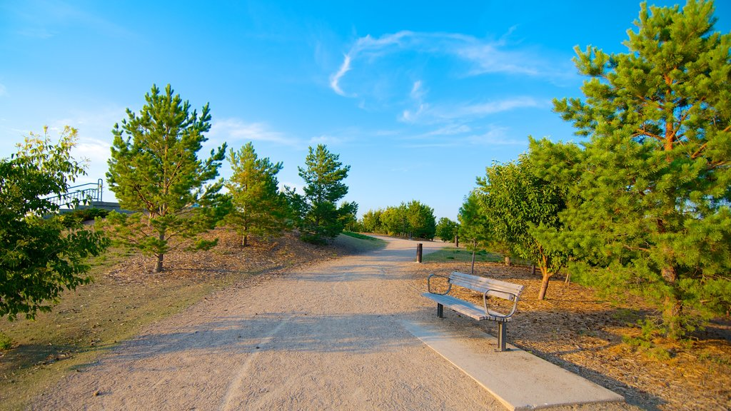 Wascana Park featuring landscape views and a garden