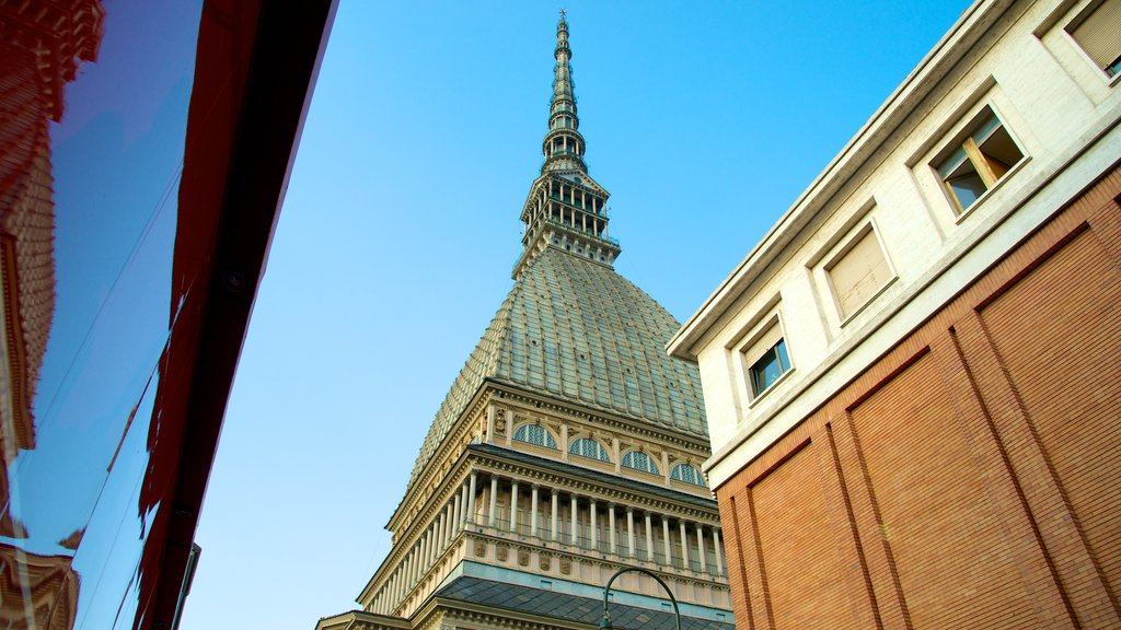 Mole Antonelliana featuring a church or cathedral and heritage architecture