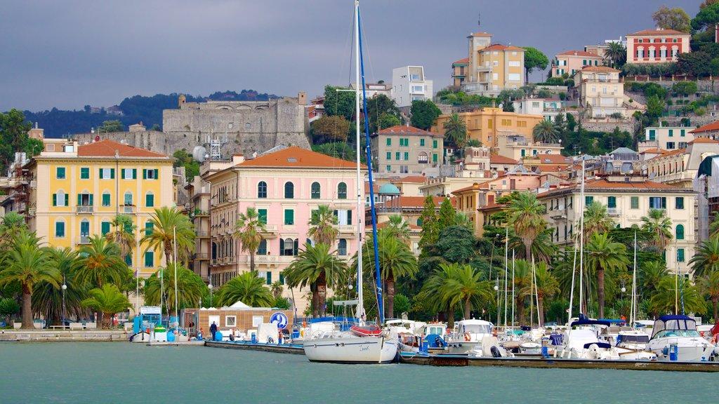 La Spezia featuring boating, a marina and a coastal town