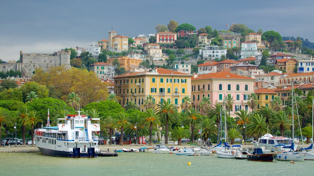 La Spezia which includes a marina, a coastal town and boating
