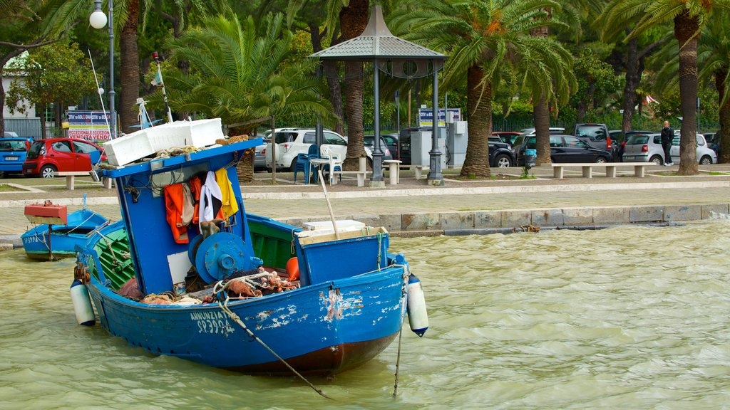 La Spezia featuring a marina and boating