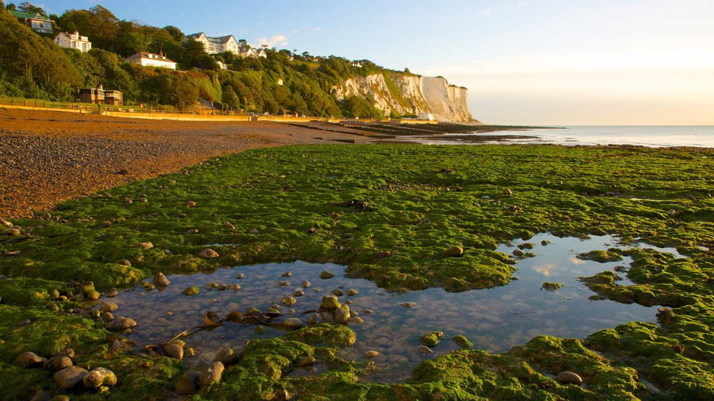 Dover which includes a pebble beach and landscape views