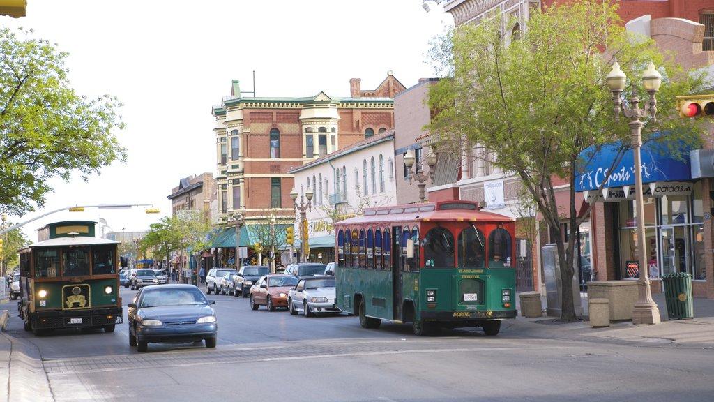El Paso showing street scenes