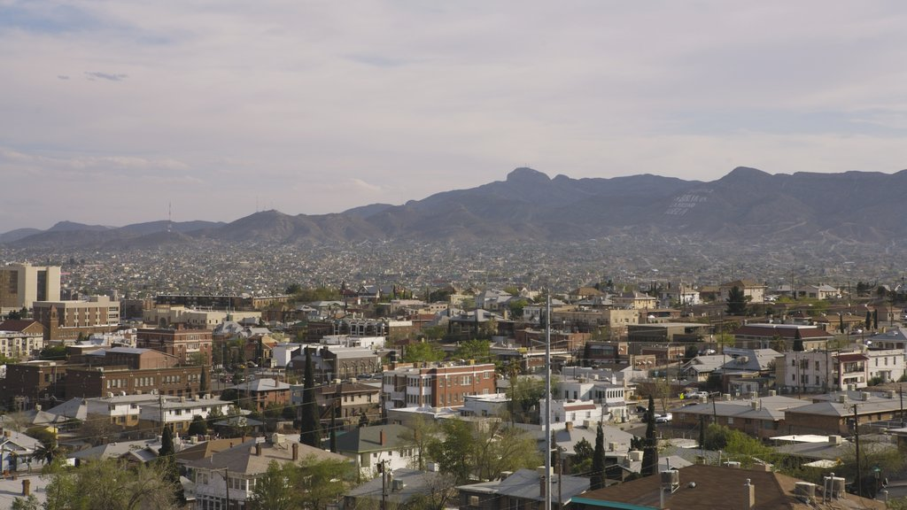 El Paso which includes mountains and a city