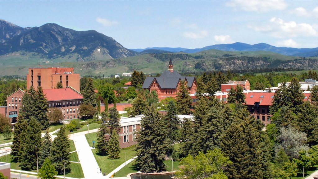 Bozeman which includes a small town or village