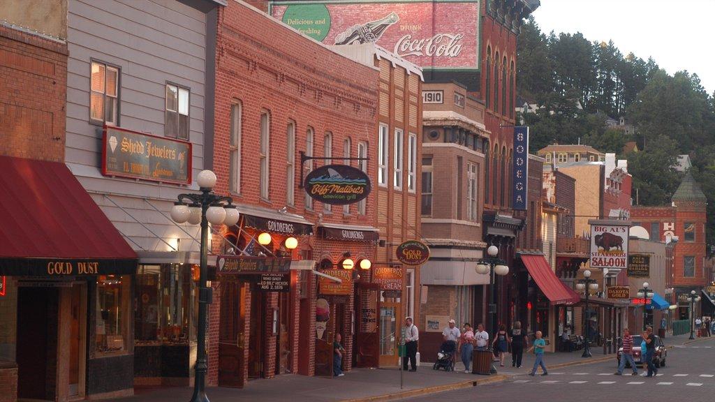 Deadwood featuring street scenes