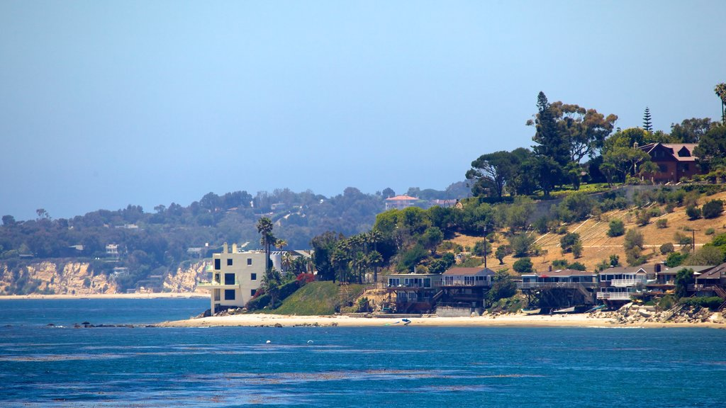 Malibu which includes general coastal views, a beach and a coastal town