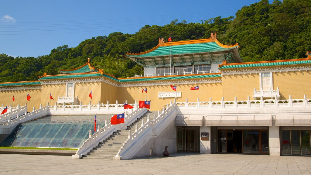 National Palace Museum which includes a temple or place of worship