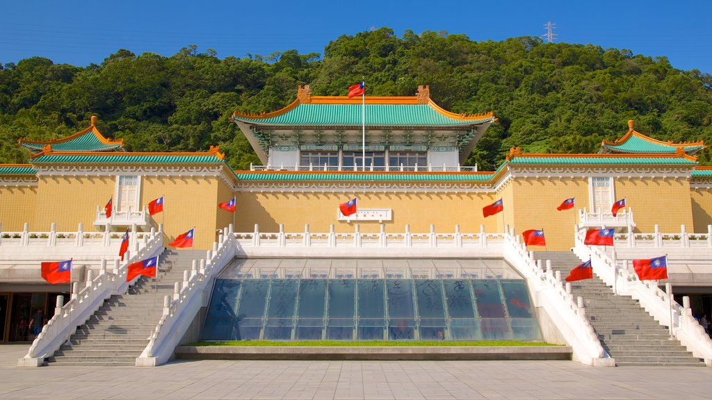 National Palace Museum featuring a temple or place of worship and religious aspects