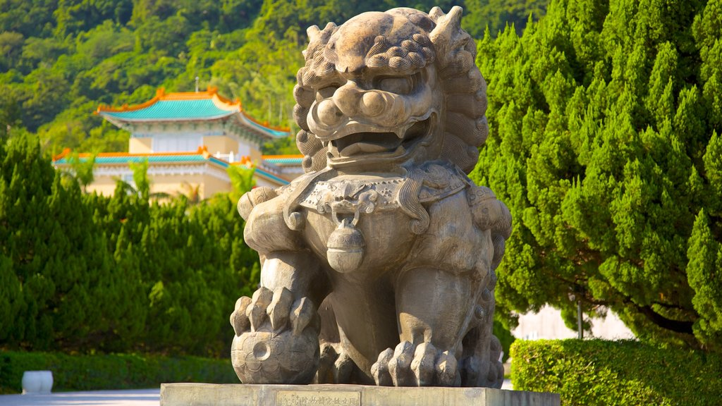 Taiwan which includes outdoor art, art and a statue or sculpture