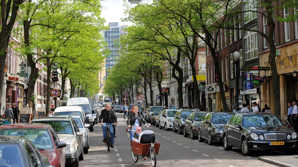 Rotterdam featuring a city, street scenes and shopping