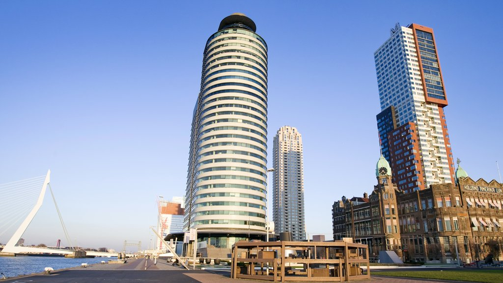 Rotterdam featuring a city, a high rise building and modern architecture