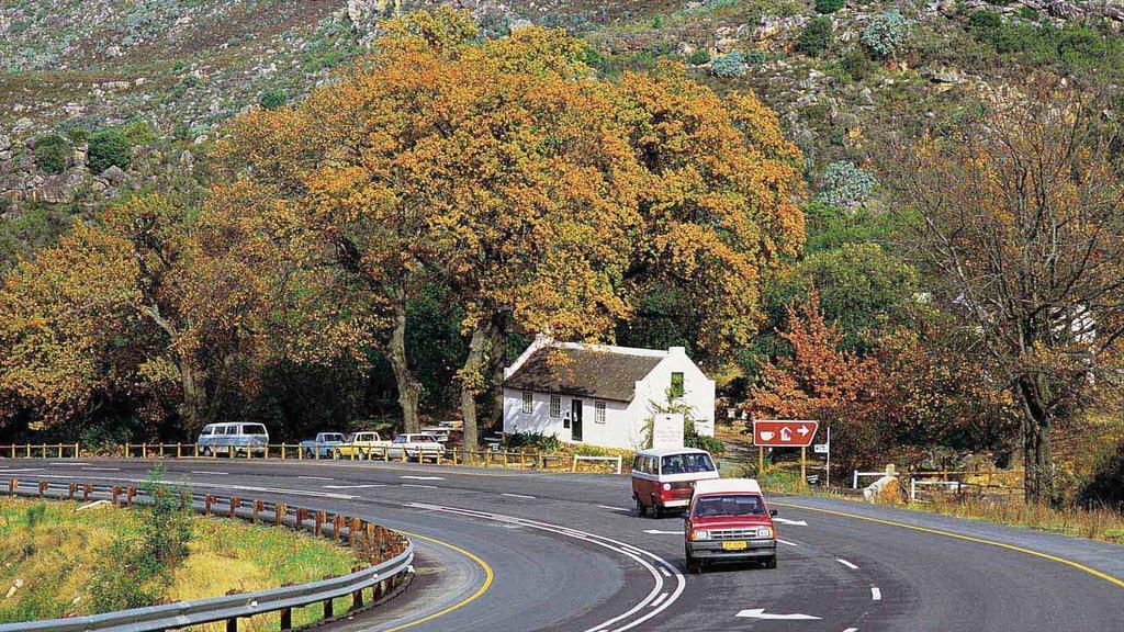 Ceres ofreciendo una pequeña ciudad o pueblo, vistas de paisajes y escenas urbanas