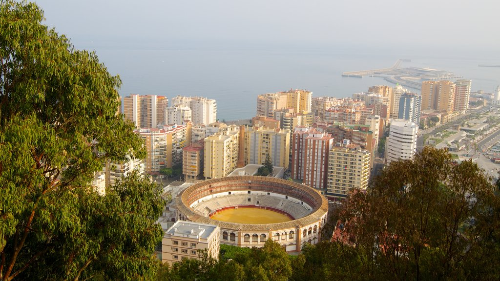 Malaga which includes a city