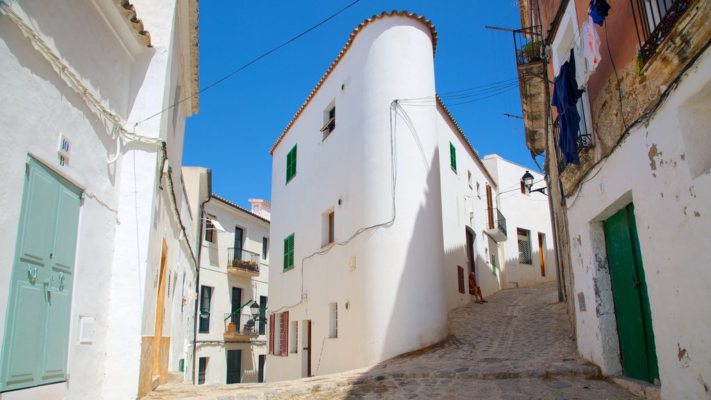 Ibiza which includes a small town or village, a house and street scenes