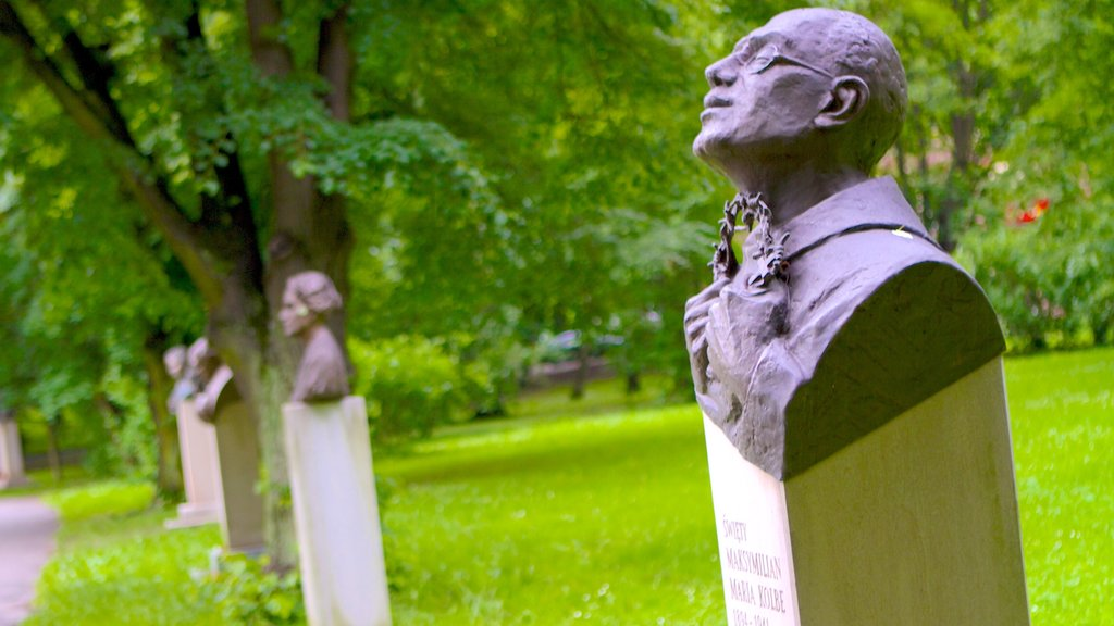 Jordan Park showing a monument, outdoor art and art
