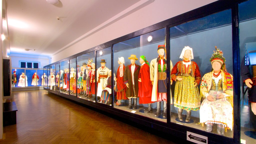 Ethnographic Museum showing interior views