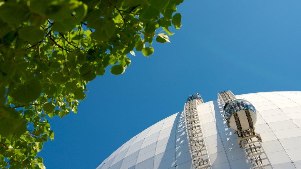 Stockholm showing an observatory