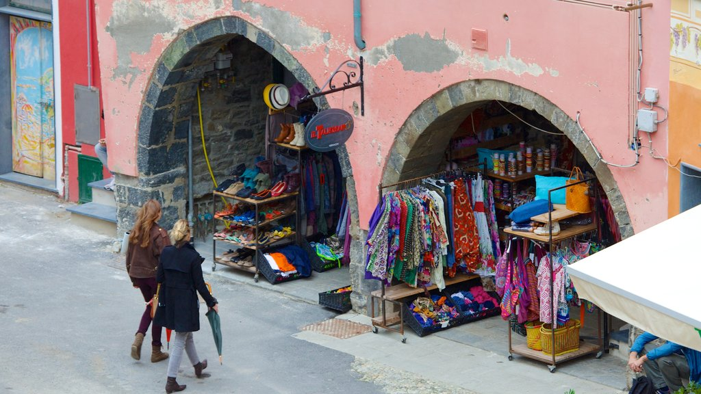Vernazza which includes street scenes and markets as well as a small group of people