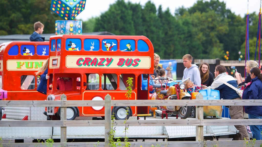 Hop Farm Family Park featuring a playground