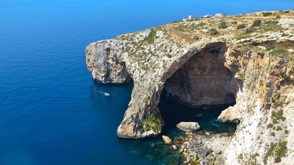 Zurrieq which includes landscape views and rugged coastline