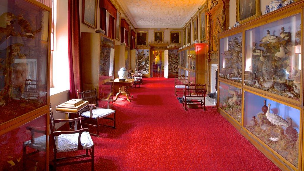 Audley End House which includes interior views