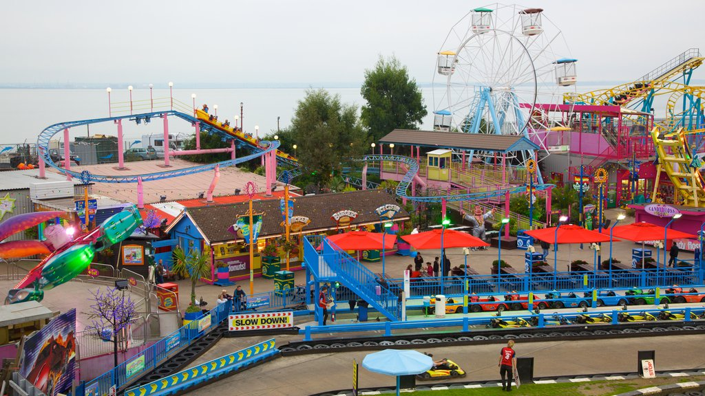 Adventure Island showing rides
