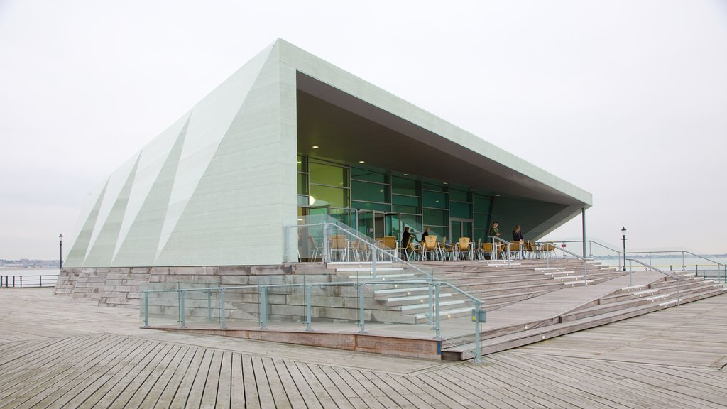 Southend Pier featuring modern architecture