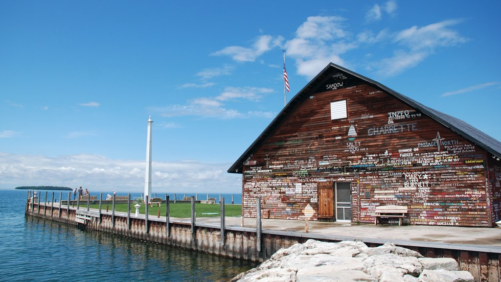 Door Peninsula featuring a coastal town, general coastal views and a house