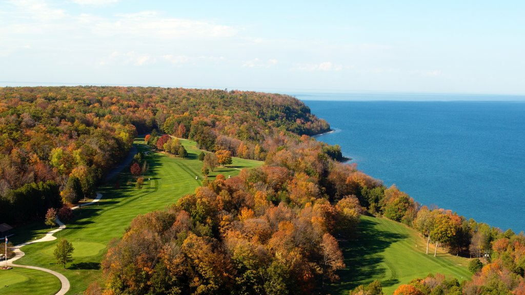 Door Peninsula which includes general coastal views, golf and fall colors