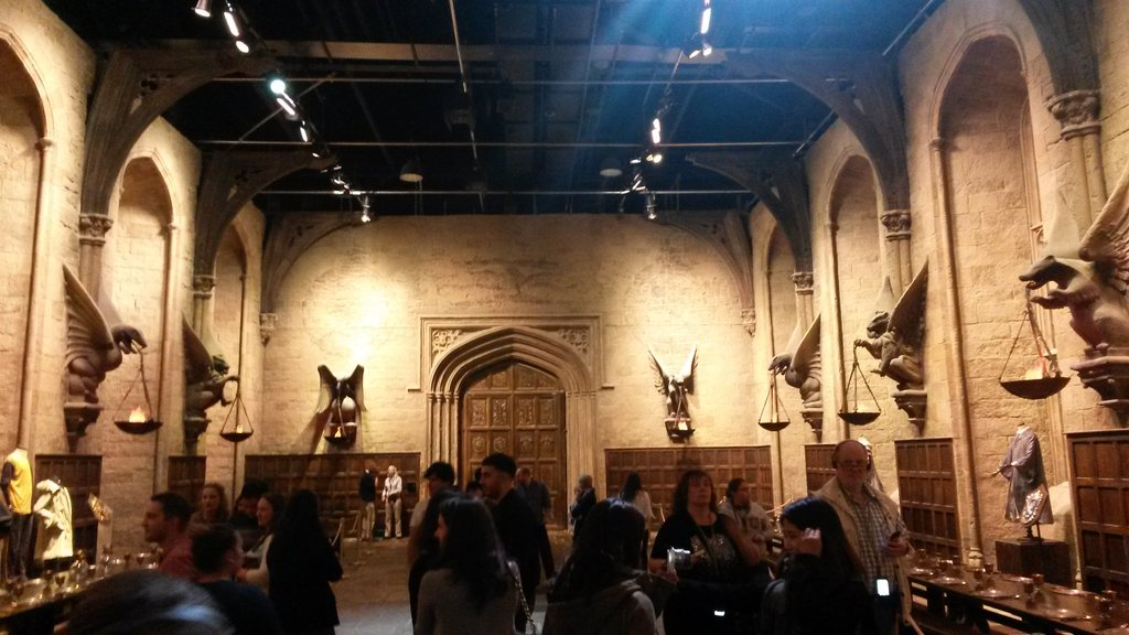 Harry Potter Studio Tour<figcaption>The Great Hall</figcaption>
