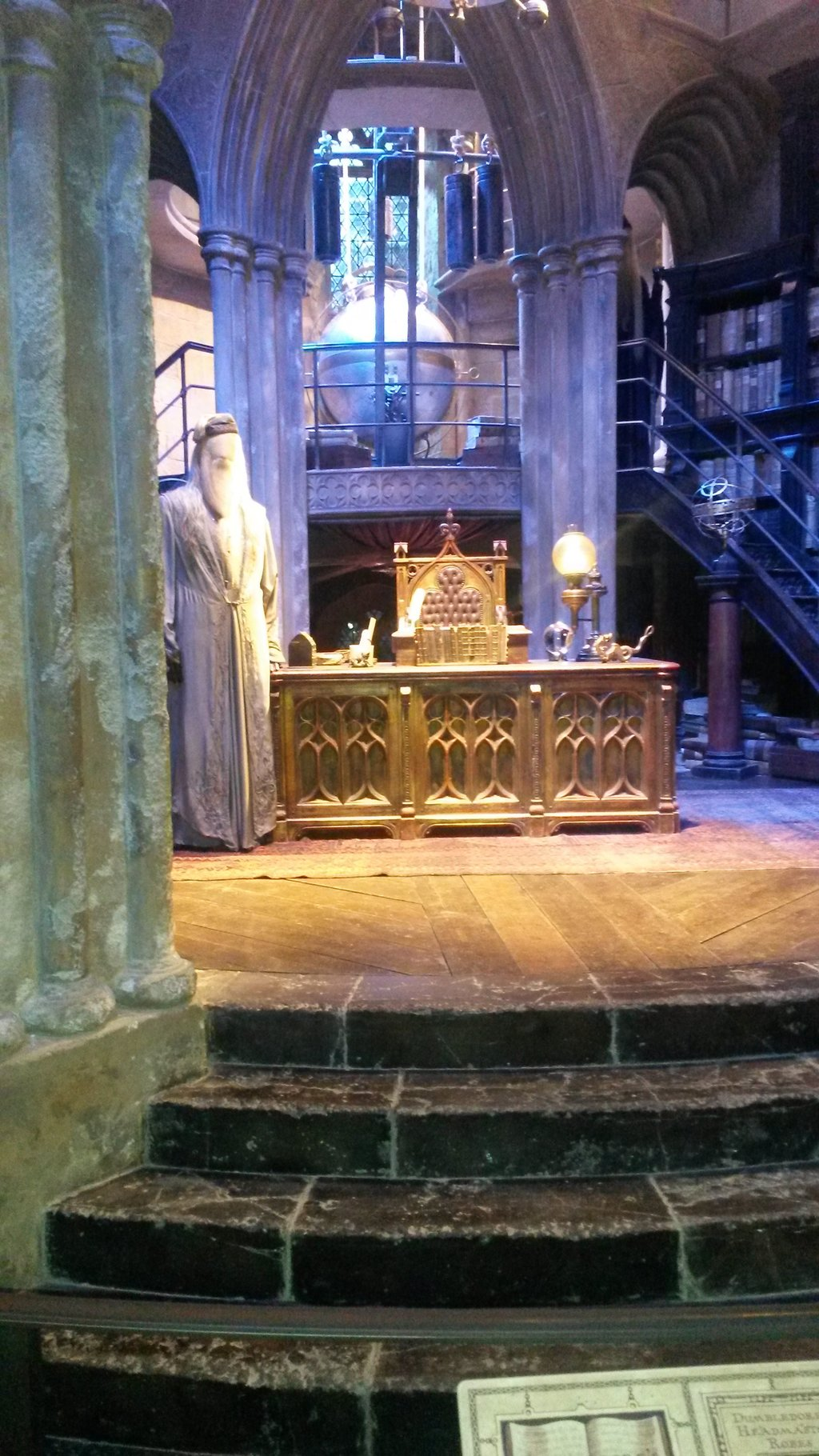 Harry Potter Studio Tour<figcaption>Dumbledore's Office</figcaption>