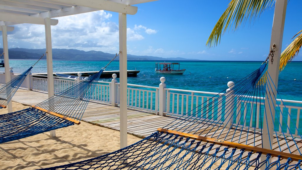 Montego Bay featuring boating and tropical scenes