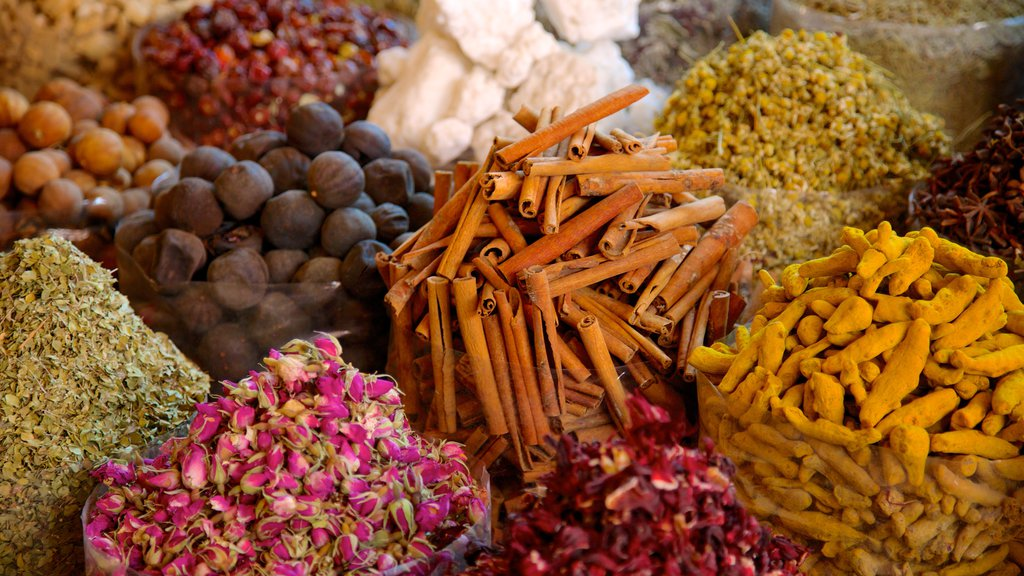 Spice Souk which includes food