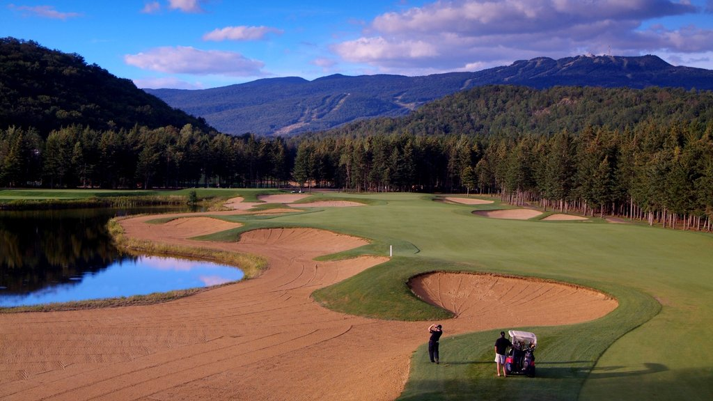 Mont-Tremblant showing golf and landscape views