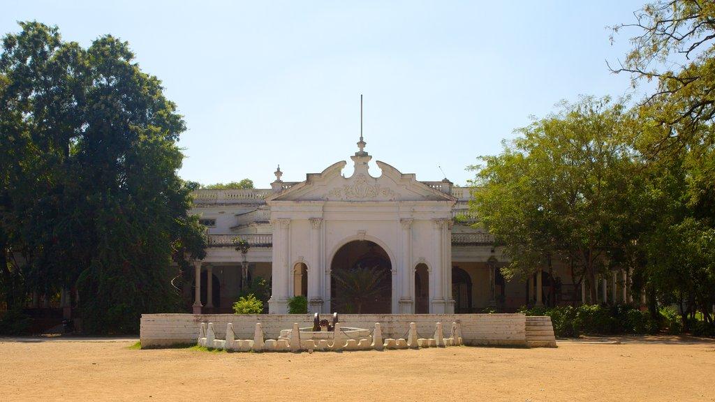 Purani Haveli showing heritage architecture