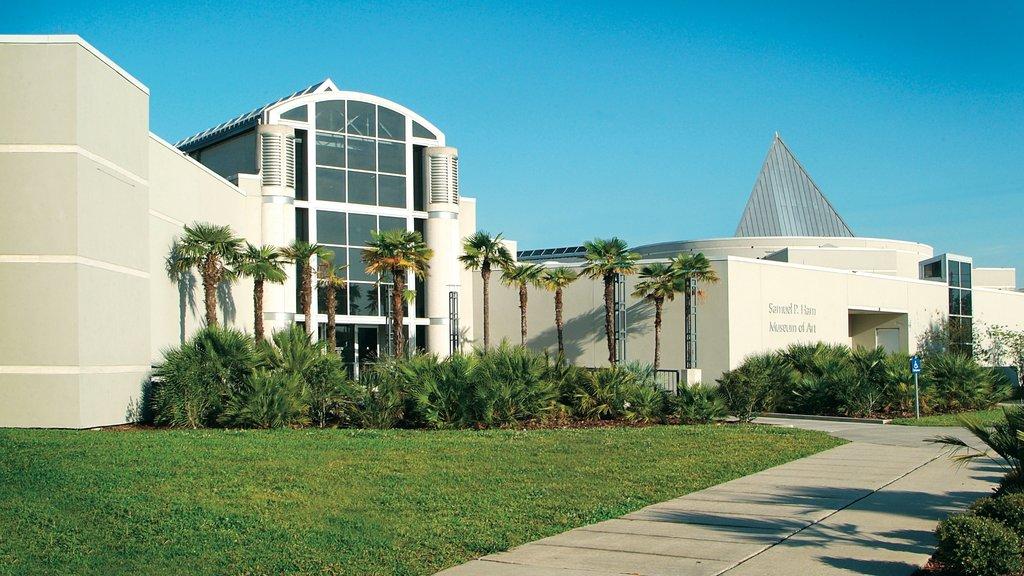 Gainesville which includes modern architecture