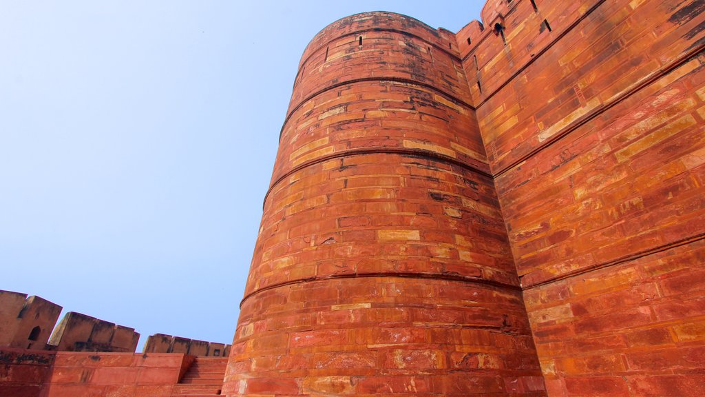 Agra Fort featuring heritage architecture
