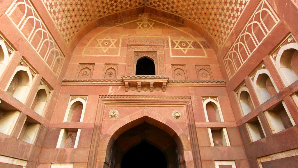 Agra Fort featuring heritage architecture and interior views