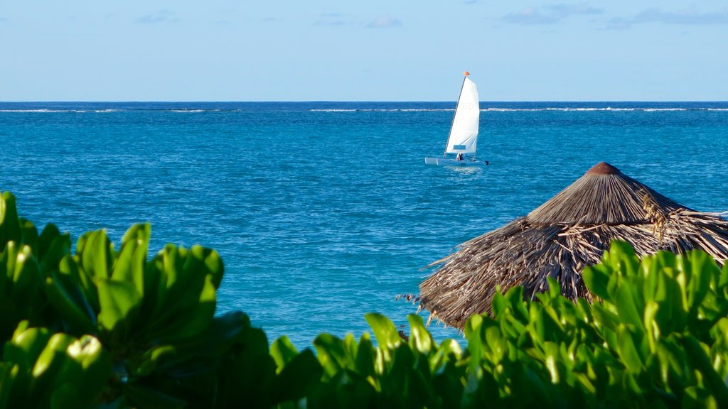 Turks and Caicos showing tropical scenes, general coastal views and sailing