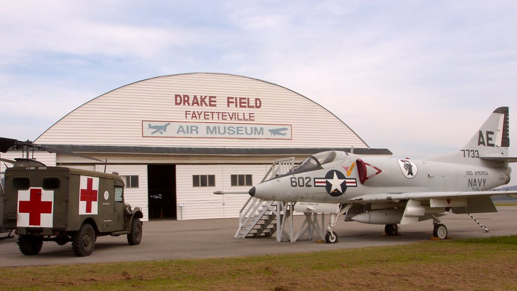 Bentonville - Fayetteville showing aircraft and military items