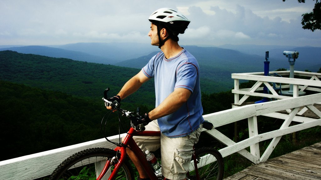 Bentonville - Fayetteville which includes tranquil scenes, views and mountain biking