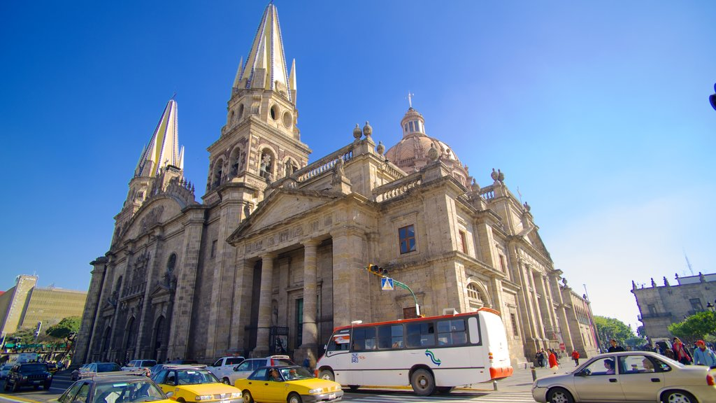Metropolitan Cathedral featuring a church or cathedral, a city and heritage architecture