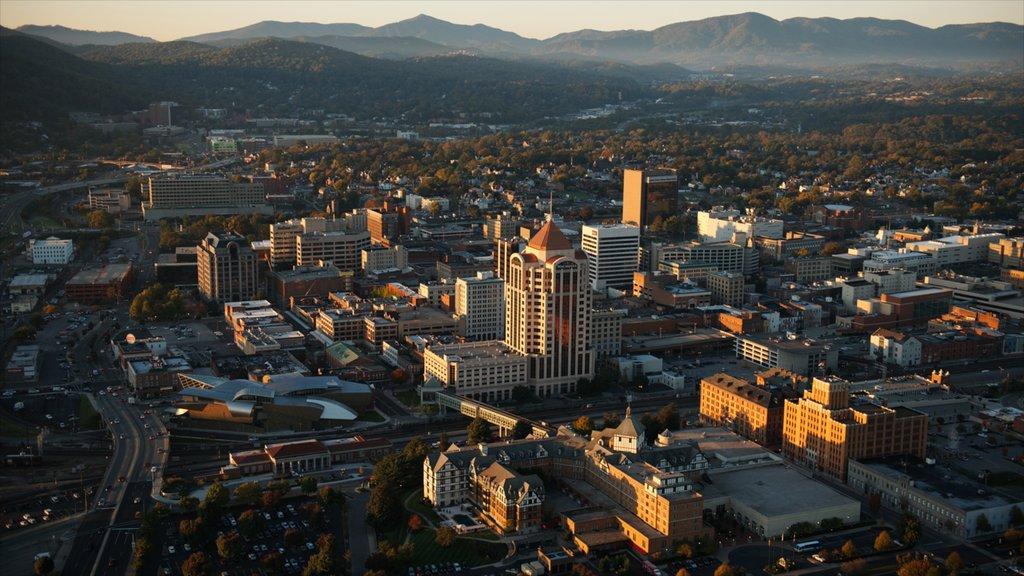 Roanoke showing a city