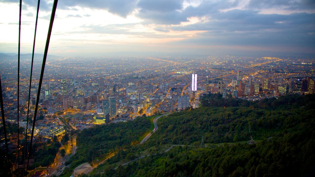 Bogota featuring a city and landscape views