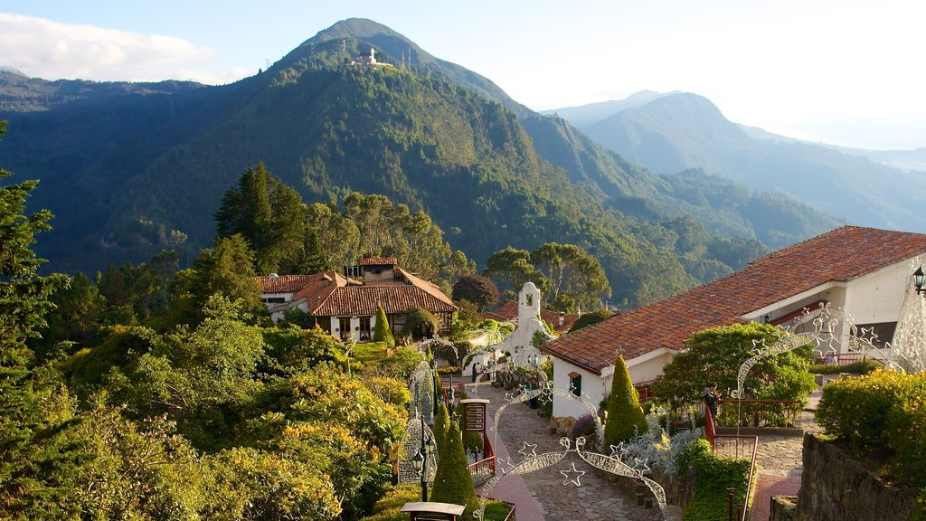 Monserrate featuring tranquil scenes, mountains and landscape views