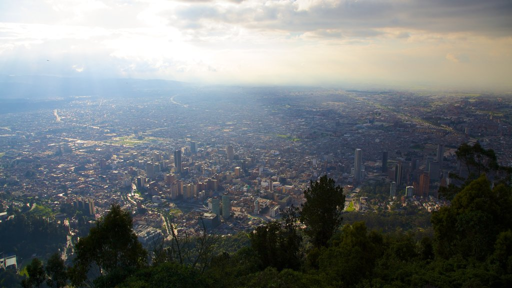 Monserrate featuring a city and landscape views
